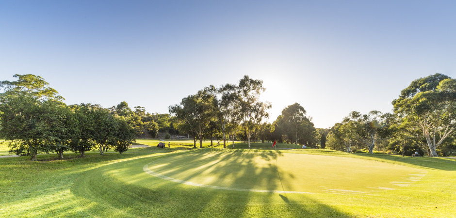 Asquith - 2 players, 18 holes + drink and cart savings