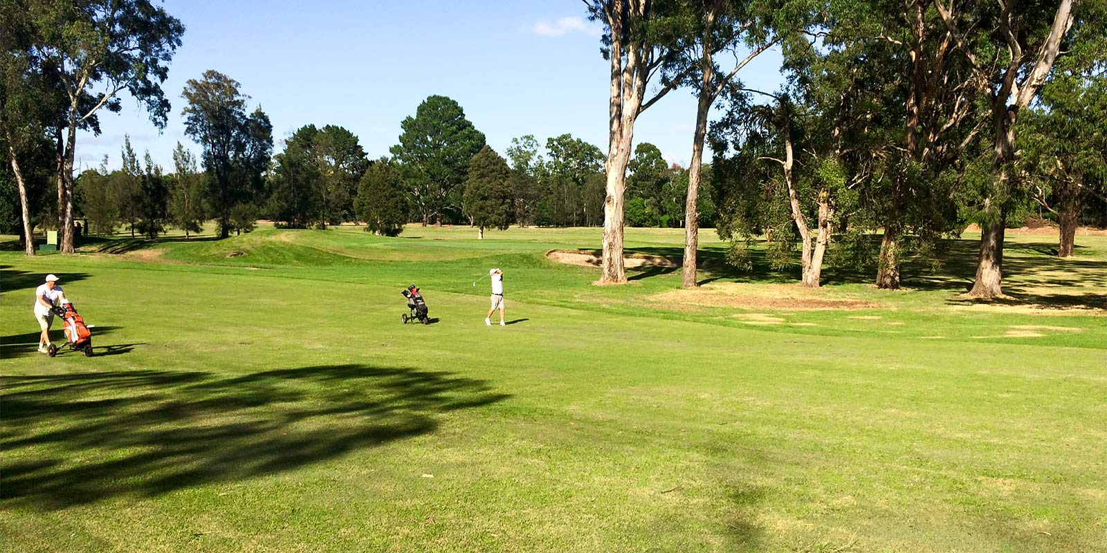 Georges River Golf Club – Two Players, 18 Holes, Walking